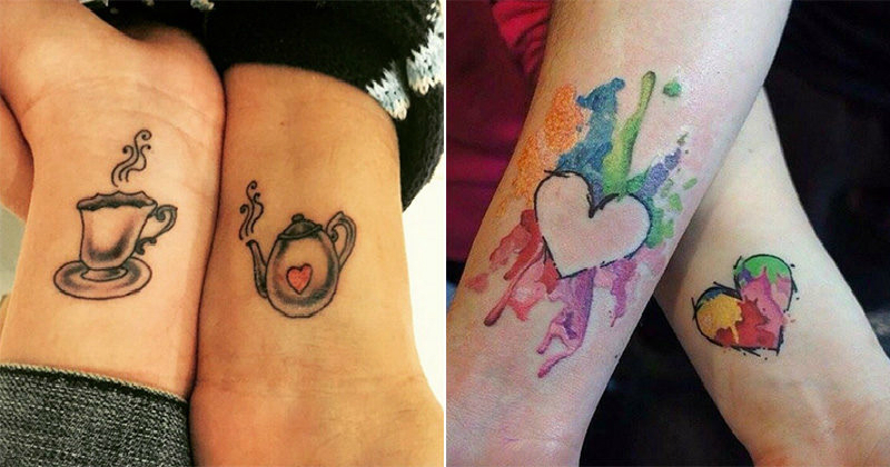 26 Mother And Daughter Tattoos That Will Bond You Together Forever